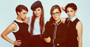 Les Brünettes - A cappella Band
